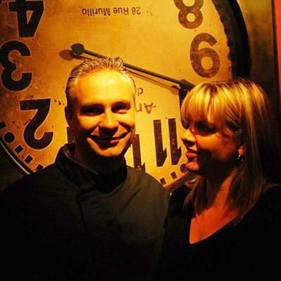 Vincent et Muriel Leclere, restaurateurs Sart-Tilman