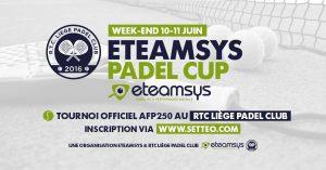 eTeamsys Padel Cup